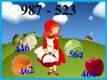 987 - 523 462 446 564 464