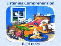 Bill's room