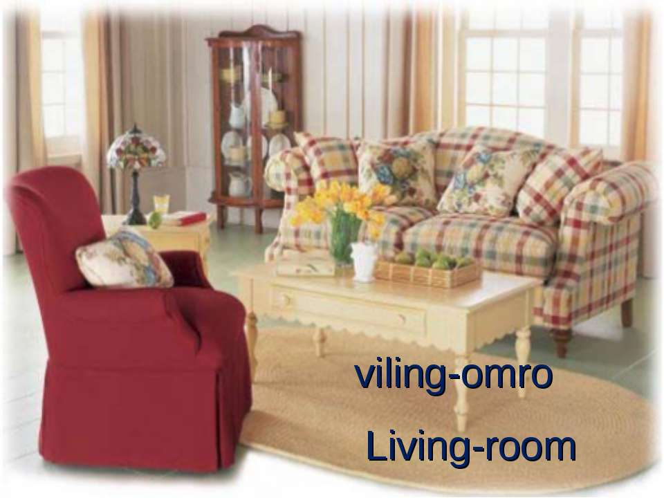 Living-room viling-omro