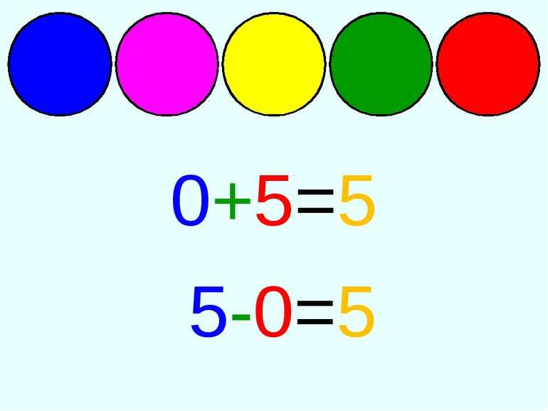 0+5=5 5-0=5