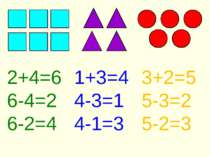 2+4=6 6-4=2 6-2=4 1+3=4 4-3=1 4-1=3 3+2=5 5-3=2 5-2=3