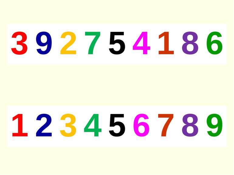 3 9 2 7 5 4 1 8 6 1 2 3 4 5 6 7 8 9