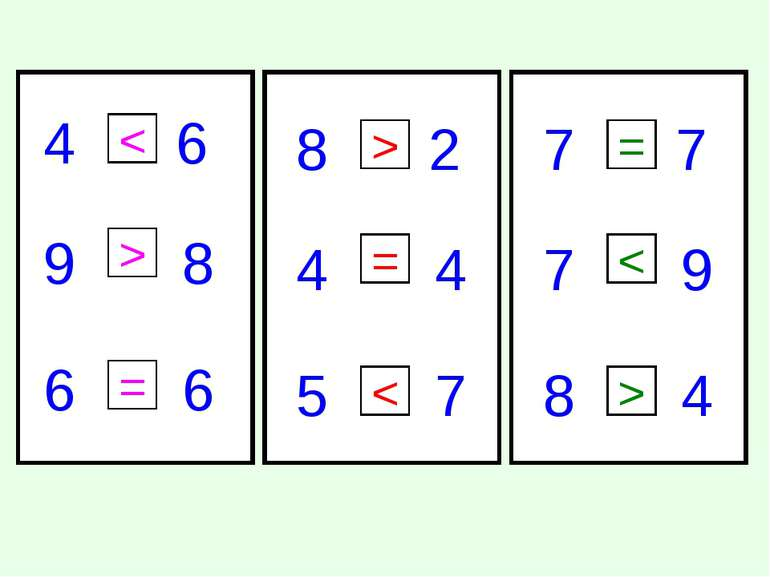 4 6 9 8 6 6 8 2 4 4 7 5 7 7 7 9 4 8 < > = > = < = < >
