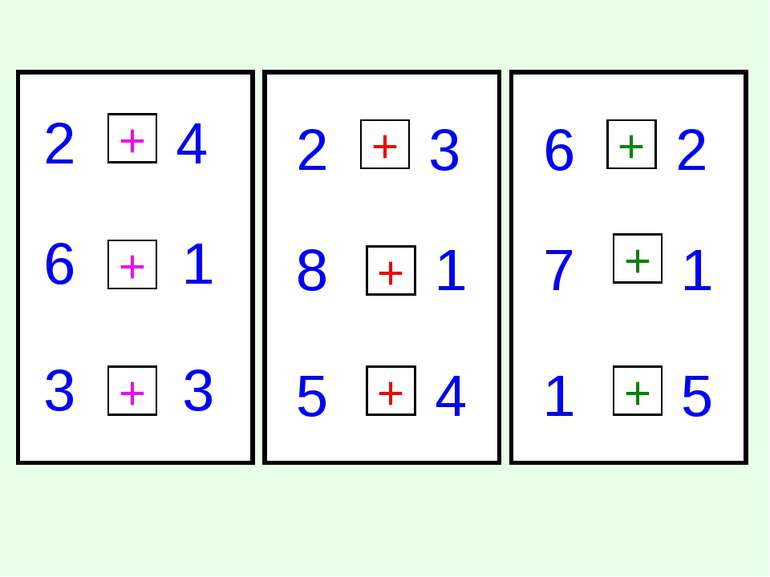 2 4 6 1 3 3 2 3 8 1 4 5 6 2 7 1 5 1 + + + + + + + + +