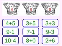 6 9 8 4+5 3+5 3+3 9-1 10-4 7-1 8+0 9-3 2+6