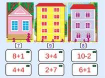 8+1 2+7 4+4 3+4 6+1 10-2 7 9 8