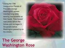 During the 1789 Inauguration Parade of President George Washington, women mar...