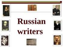 Russian writers