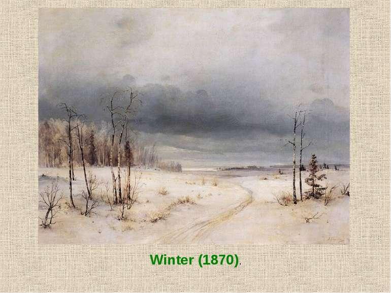 Winter (1870).