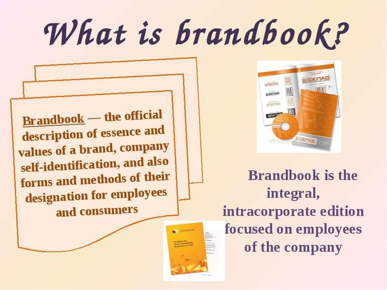 What is brandbook? Brandbookis the integral, intracorporate edition focused ...