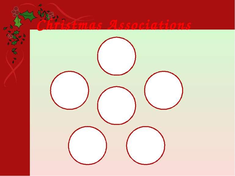 Christmas Associations