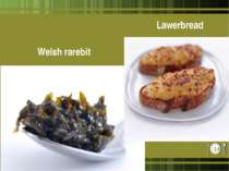Welsh rarebit Lawerbread *