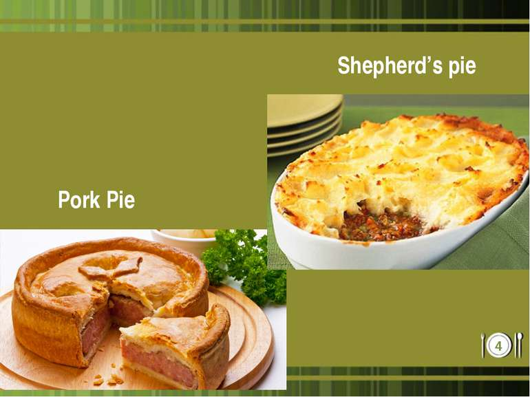 Pork Pie Shepherd's pie *