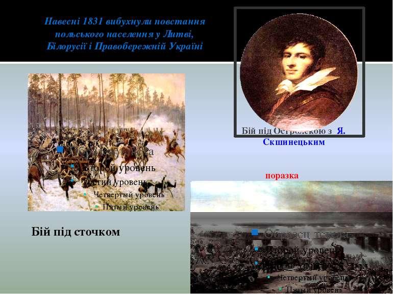 Навесні 1831 вибухнули повстання польського населення у Литві, Білорусії і Пр...