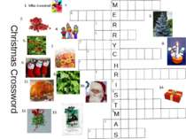 Christmas Crossword 1. Who invented ? 2. 3. 4. 5. 6. 7. 8. 9. 10. 11. 12. 13....