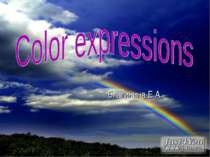 Color expressions