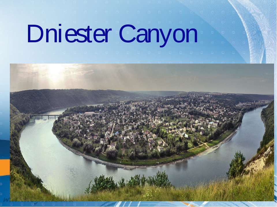 Dniester Canyon