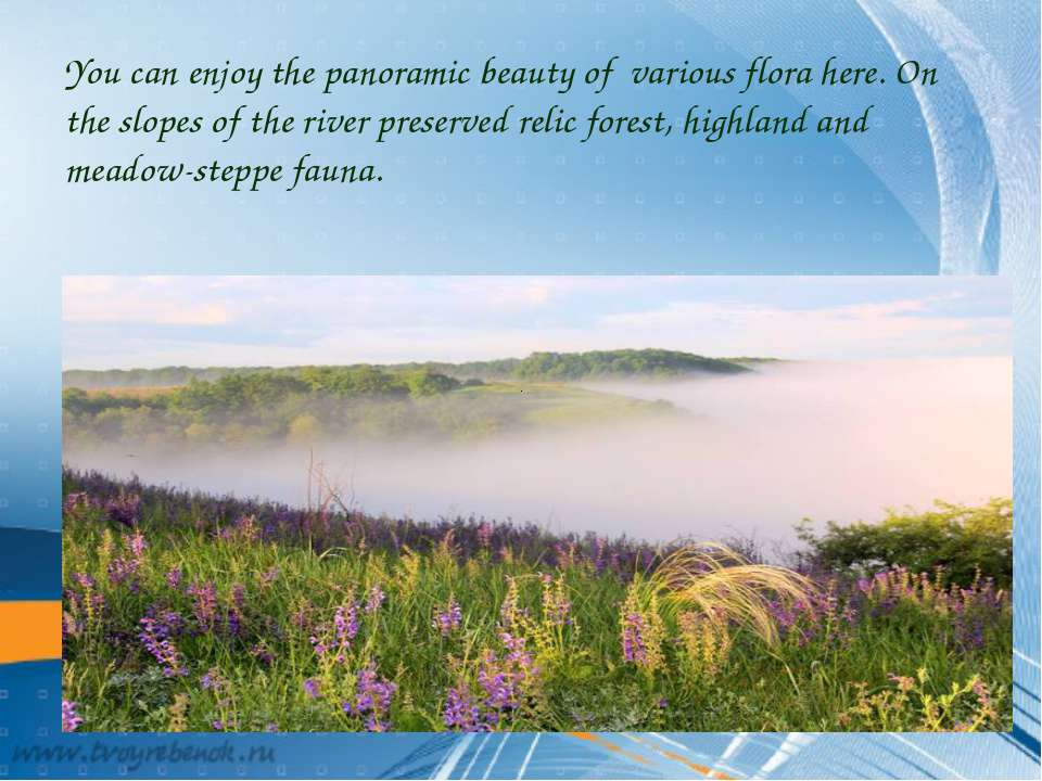 You can enjoy the panoramic beauty of various flora here. On the slopes of th...