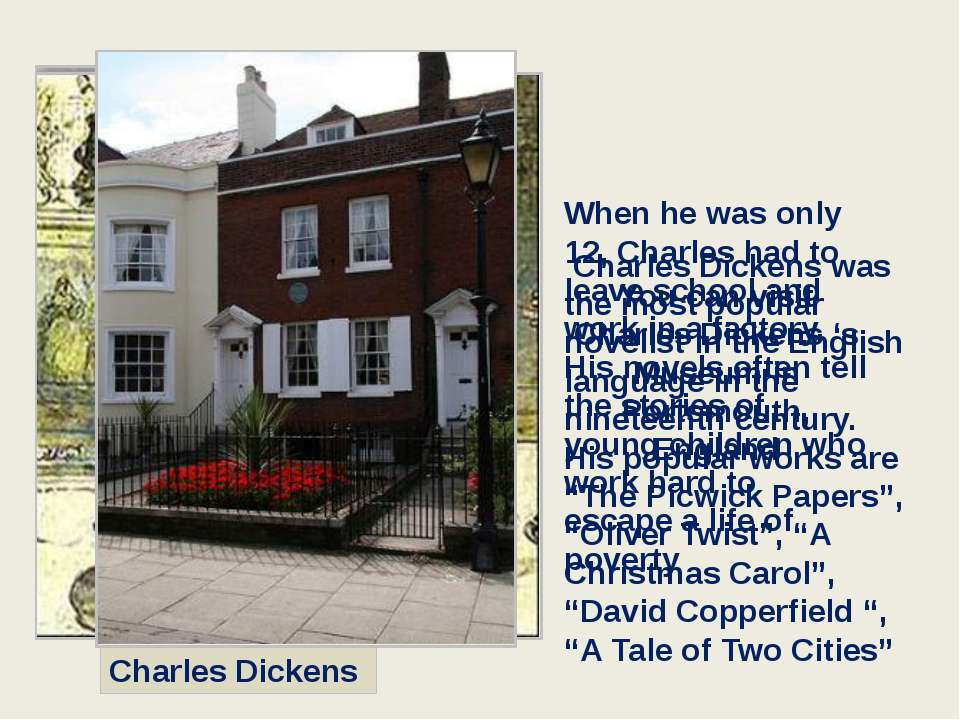 The Poet's Corner in Westminster Abbey tour 221B Baker Street was assigned to...