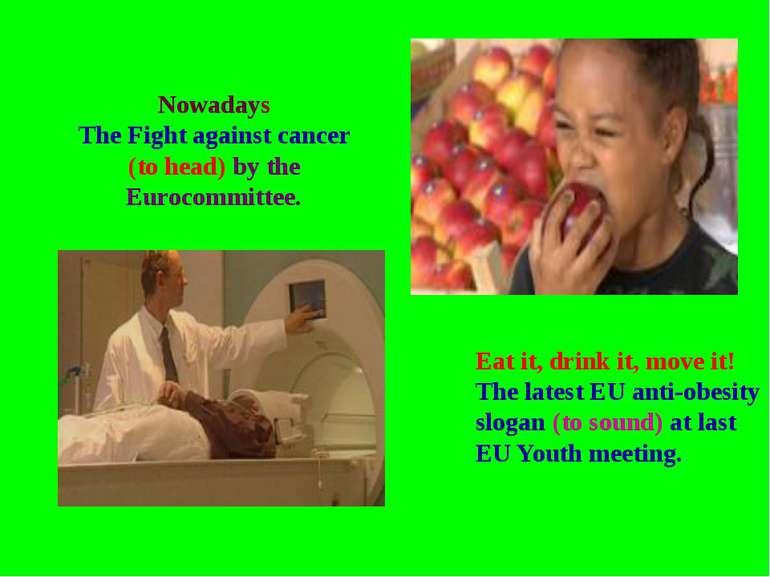 Eat it, drink it, move it! The latest EU anti-obesity slogan (to sound) at la...