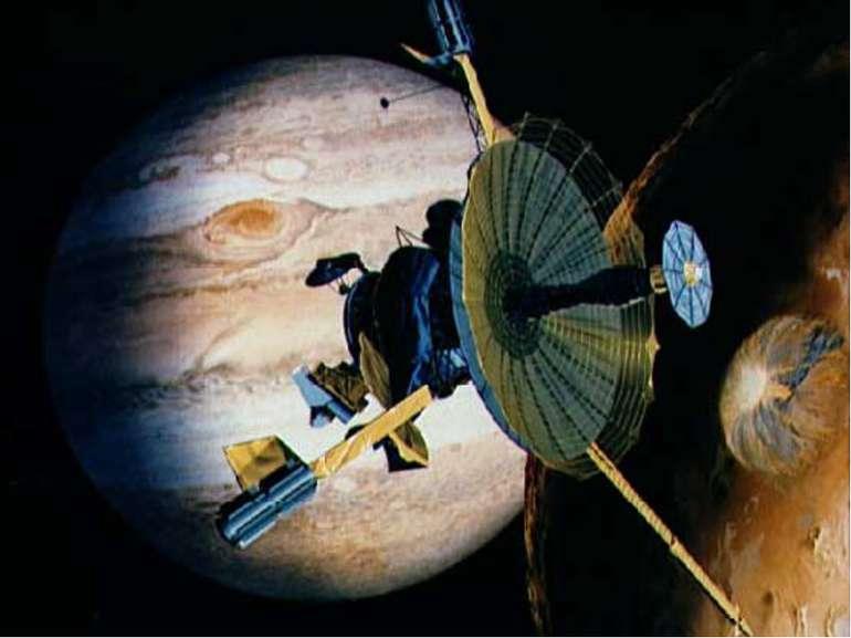 Юпітер Найбільша планета Сонячної системи. Має 16 супутників і систему тонких...