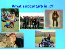 What subculture is it?