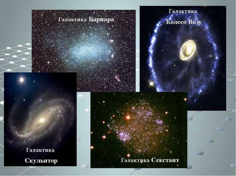 Галактика Колесо Возу Галактика Барнара Галактика Секстант Галактика Скульптор