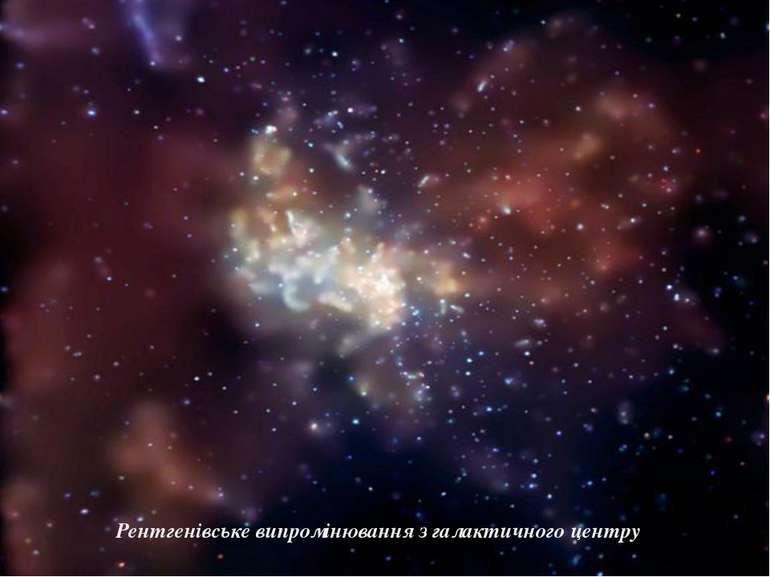 Рентгенівське випромінювання з галактичного центру