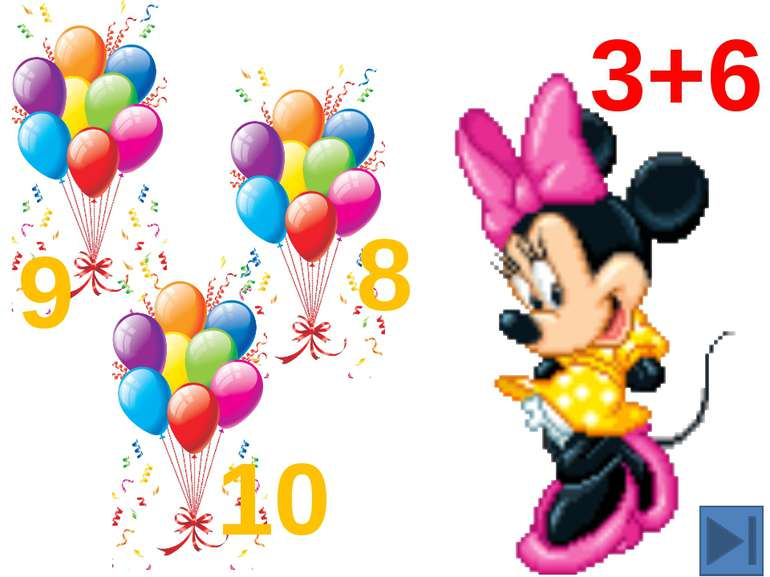 1+6=7 2+6=8 3+6=9 4+6=10