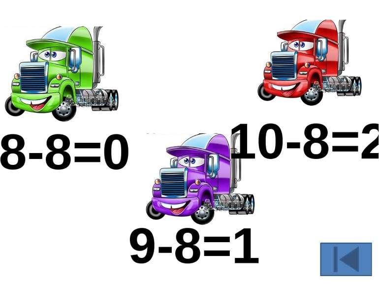 8-8=0 9-8=1 10-8=2
