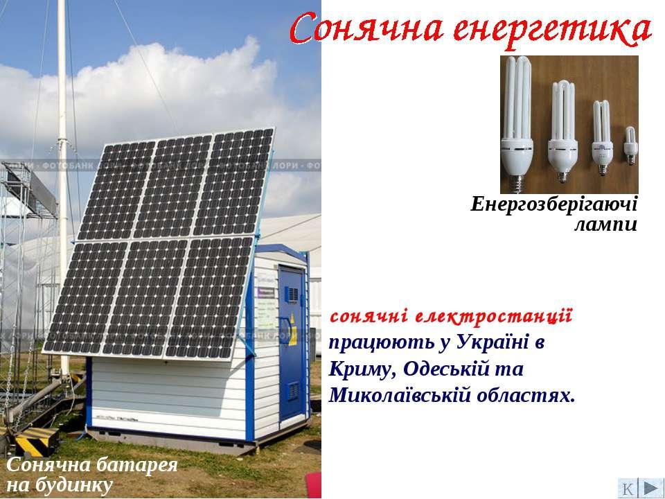 Сонячна батарея на будинку Енергозберігаючі лампи К сонячні електростанції пр...