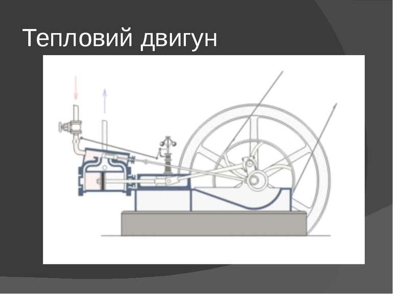 Тепловий двигун