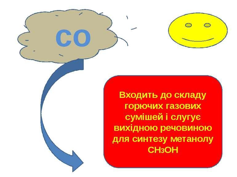 со Входить до складу горючих газових сумішей і слугує вихідною речовиною для ...