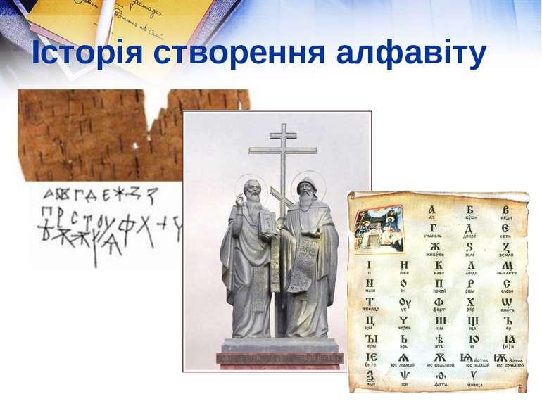 Історія створення алфавіту