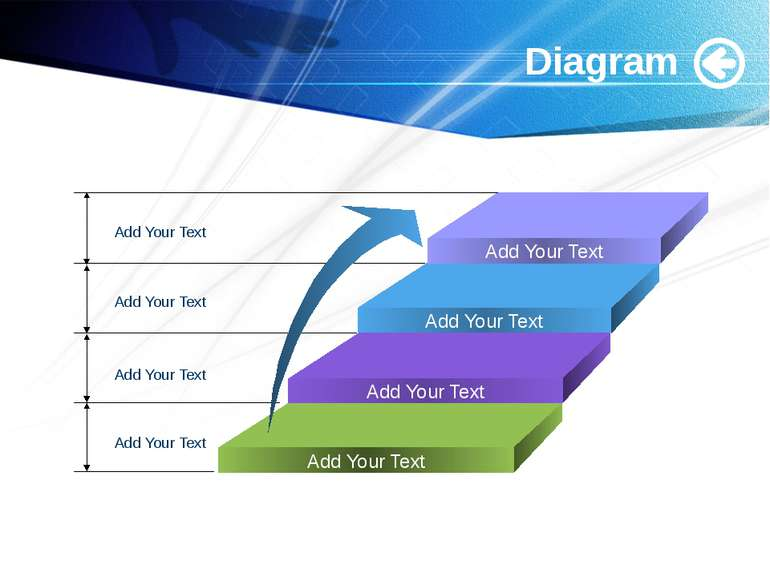 www.themegallery.com Diagram Add Your Text Add Your Text Add Your Text Add Yo...