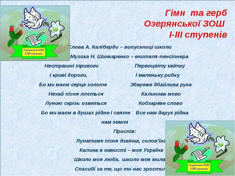 Чернігівський обласний інститут післядипломної освіти Районний відділ освіти ...