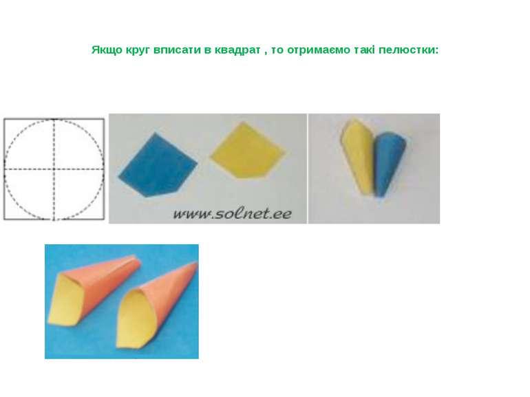 Якщо круг вписати в квадрат , то отримаємо такі пелюстки: Налисник Г.П.