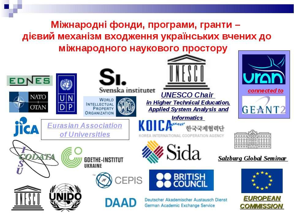 Eurasian Association of Universities UNESCO Chair in Higher Technical Educati...