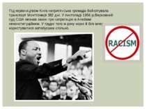 Під керівництвом Кінга негритянська громада бойкотувала транспорт Монтгомері ...