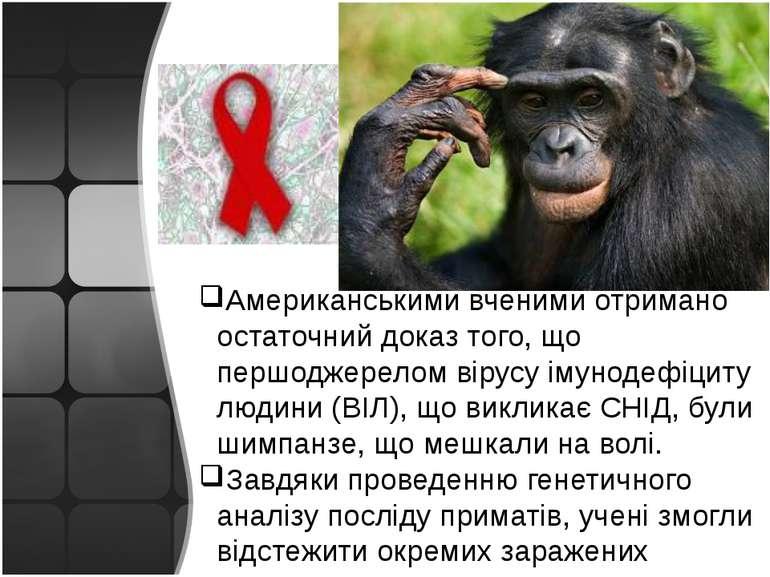 Американськими вченими отримано остаточний доказ того, що першоджерелом вірус...