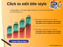 Click to edit title style 2. Describe contents for a Chart Description of the...