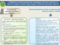 Порівняння норм Конвенції про процедуру спільного транзиту та Митного кодексу...
