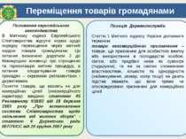 Переміщення товарів громадянами Положення європейського законодавства В Митно...
