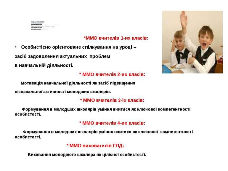 Структура методичної роботи з педагогами початкової школи пізнавальної активн...