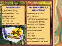 МАТЕРІАЛИ ДЕРЕВИНА (клен) СТАЛЬНИЙ ПРУТОК КВАДРАТНИЙ МЕТАЛОПРОКАТ ЛАК ПФ – 28...