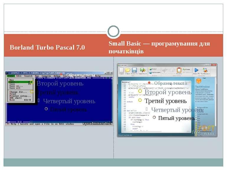 Borland Turbo Pascal 7.0 Small Basic — програмування для початківців