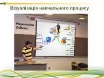 Візуалізація навчального процесу Схематичне зображення процесів - це сценарій...