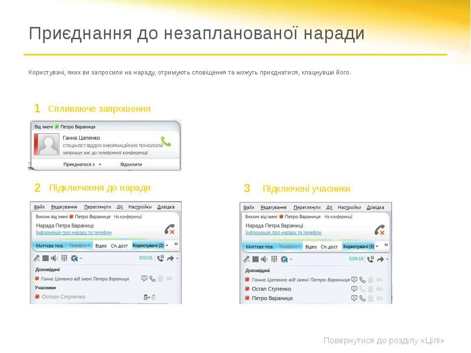 Відкрийте програму Microsoft Lync і виберіть контакти, яких потрібно приєднат...