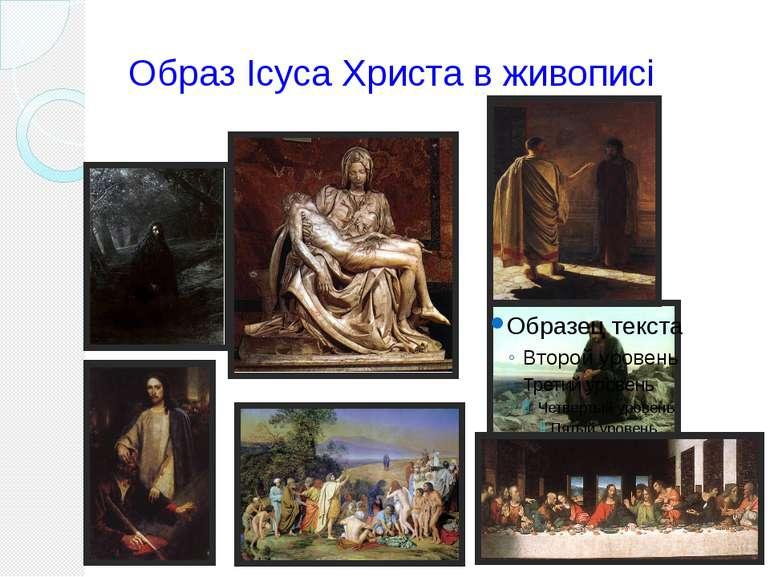 Образ Ісуса Христа в живописі