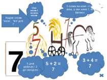 """7 Кодові слова """"коса"""", """"віз"""" для 7 Сіно косим і на воза носим 5 + 2 = 7 5 дні..."""